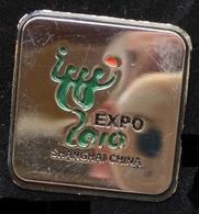 EXPO 2010  -  SHANGHAI - CHINA - CHINE    -   (ROSE) - Steden