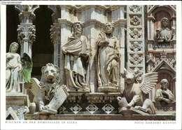 1093639 Figuren An Der Domfassade In Siena - Italia