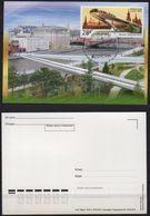 Russia 2018 Official MC Maximum Card EUROPA-CEPT Floating Bridge In Moscow Pont Bridges Ponts - 2018