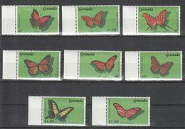 B695 GRENADA INSECTS BUTTERFLIES 1SET MNH - Schmetterlinge
