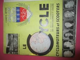 Le CYCLE/La Revue Internationale Des Professionnels Et Usagers/ Cyclomoteurs Et Scooters/Salon De Paris/ 1950  AC141 - Motos