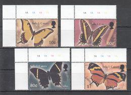 B697 TURKS & CAICOS INSECTS BUTTERFLIES 1SET MNH - Schmetterlinge