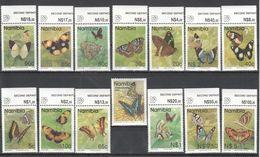 B698 1993 NAMIBIA BUTTERFLIES 1SET MNH - Schmetterlinge