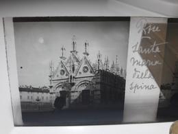 75 - Plaque De Verre - Italie - Pise -  Santa Maria - Glasplaten
