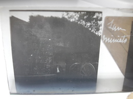 77 - Plaque De Verre - Italie - San Miniato - Glasplaten