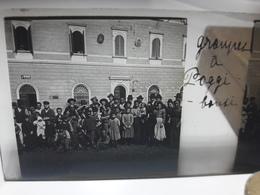 78 - Plaque De Verre - Italie - Groupes à Poggi - Glasplaten