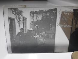80 - Plaque De Verre - Italie - Le Café à L'abbaye Minerva - Glasplaten
