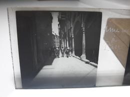 81 - Plaque De Verre - Italie - Une Rue à Pise - Glasplaten