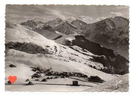 21253-LE-38-L' ALPE D'HUEZ-alt. 1745 M-Le Village Dans Son Cadre De Montagnes - Altri Comuni