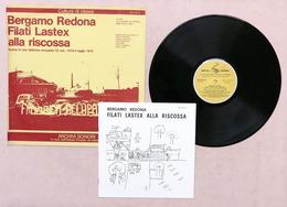 LP Disco 33 Giri Archivi Sonori Bergamo Redona Filati Lastex Alla Riscossa 1975 - Vinyl Records