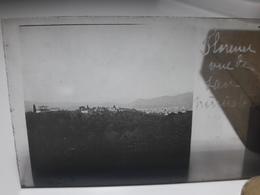 86 - Plaque De Verre - Italie - Florence Vue De San Miniato - Glasplaten