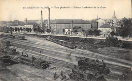 CPA 60 CREPY EN VALOIS VUE GENERALE L USINE INTERIEUR DE LA GARE - Crepy En Valois