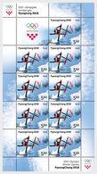 Kroatië / Croatia - Postfris / MNH - Sheet Olympische Winterspelen 2018 - Kroatië