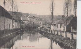 EURE - CROISY - Vue Sur Le Moulin  ( - Petite Animation - N'a Pas Circulé ) - Other Municipalities