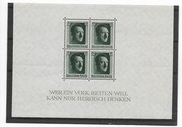 Reich Blok N° 8  Xx Postfris PLOOI IN LINKER BOVENHOEK - Allemagne