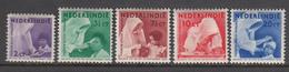 Nederlands Indie MLH NVPH Nr 241/45 From 1938 / Catw 6.50 EUR - Nederlands-Indië