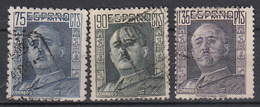 SPANJE - Michel - 1946 - Nr 935A/36B +37B - Gest/Obl/Us - 1931-Aujourd'hui: II. République - ....Juan Carlos I