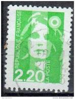 France 1993 Marianne Briat 2f20 Vert Clair YT 2790 - 1989-96 Marianne (Zweihunderjahrfeier)