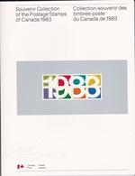 Collection-souvenir Des Timbres-poste Du Canada De 1983 - Postal History