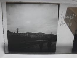 90 - Plaque De Verre - Italie - Florence, Lungh' Arno - Glasplaten