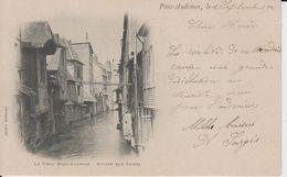 EURE - PONT AUDEMER - Le Vieux Pont Audemer - Rivière Rue Thiers ( - écrite Le 8 Septembre 1901 - Commentaires à Lire ) - Pont Audemer