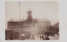 Amsterdam Koninklijk Paleis Trams 1908 - Amsterdam