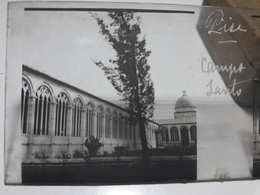 95 - Plaque De Verre - Italie - Pise - Campo Santo - Glasplaten