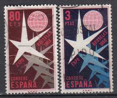 SPANJE - Michel - 1958 - Nr 1117/18 - Gest/Obl/Us - 1931-Aujourd'hui: II. République - ....Juan Carlos I