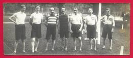 Photographie Ancienne - Paris - Équipe De Football Au Club Du Tir Au Pigeon - Année 1912 - Sports
