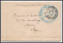 3465 Carte Lettre France Guerre 1914/1918 Sannois 1916 - Marcofilia (sobres)