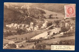 Coo. Vue Prise De La Montagne De Ster. 1923 - Stavelot