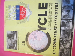 Le CYCLE/La Revue Internationale Des Professionnels Et Usagers/ Cyclomoteurs Et Scooters/Salon De Paris/ 1950  AC142 - Motos