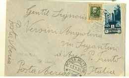POSTA MILITARE N° 210 - ERITREA - 1936 - VIAGGIATA - Eritrea