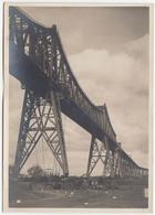 Rendsburger Hochbrücke (Rendsburg High Bridge), Railway Viaduct On Kiel Canal Old Postcard Unused B180320 - Ouvrages D'Art