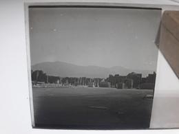 101 - Plaque De Verre - Italie - Pompei - Vésuve - Sorrente . - Glasplaten