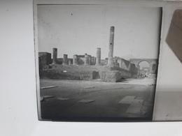 102 - Plaque De Verre - Italie - Pompei - Vésuve - Sorrente . - Glasplaten
