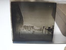 104 - Plaque De Verre - Italie - Pompei - Vésuve - Sorrente . - Glasplaten