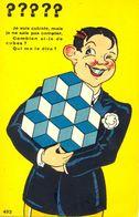 ????? Je Suis Cubiste, Mais Je Ne Sais Pas Compter. Combien Ai-je De Cubes ? Qui Me Le Dira ? - - Humor