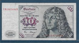 Allemagne - 10 Marks - Pick N° 31c - 2-1-1980 - TB - 10 Deutsche Mark