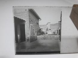 108 - Plaque De Verre - Italie - Pompei - Vésuve - Sorrente . - Glasplaten