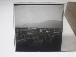 110 - Plaque De Verre - Italie - Pompei - Vésuve - Sorrente . - Glasplaten