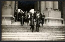 Postcard / ROYALTY / Belgique / België / Norvége / Norway / Roi Albert I / Koning Albert I / Bruxelles / Roi Haakon VII - Musées