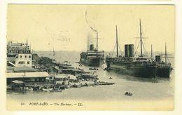 ERITREA - 1920 - SASS. N° 36 - CARTOLINA  PORT SAID - THE HARBOUR - SAVOY - NAVI AL PORTO - DA MASSAUA PER ASCOLI PICENO - Eritrea