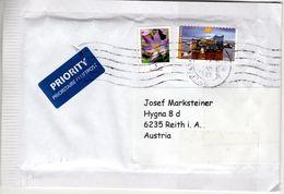 Auslands Brief Von Briefzentrum 23 Mit 145 Cent Elbphilharmonie + 5 Cent 2018 - BRD