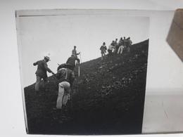 115 - Plaque De Verre - Italie - Pompei - Vésuve - Sorrente . - Glasplaten