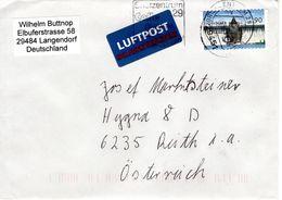 Auslands Brief Von 29451 Briefzentrum 29 Celle Mit 90 Cent 2018 - BRD