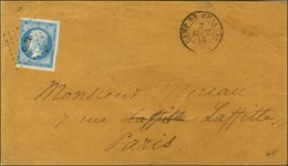 Losange C. CH / N° 14 (def) Càd CAMP DE CHALONS (49). 1858. - TB. - R. - Postmark Collection (Covers)