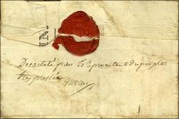Lettre De L'Armée Du Rhin Adressée En Franchise Avec Le Contreseing Du Général Courtot Au Citoyen Michaud, Général En Ch - Postmark Collection (Covers)