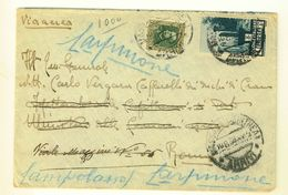 ERITREA - 1936 - LETTERA DA ASMARA PER CARPINONE - CB -  VIA AEREA - Eritrea
