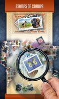 SIERRA LEONE 2018 - Butterfly On Stamp S/S. Official Issue. - Schmetterlinge